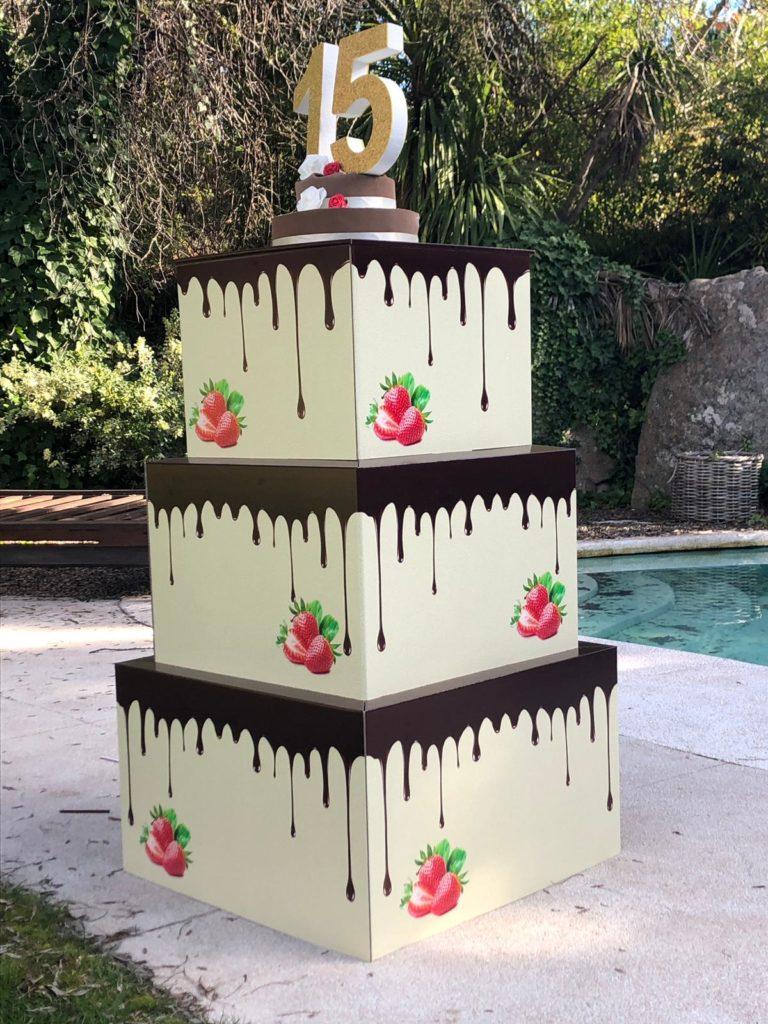 tarta sorpresa pastel gigante tartas gigantes